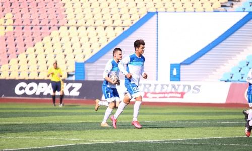 «Академия Оңтүстік» отправила «Байконуру» четыре безответных мяча в матче Первой лиги