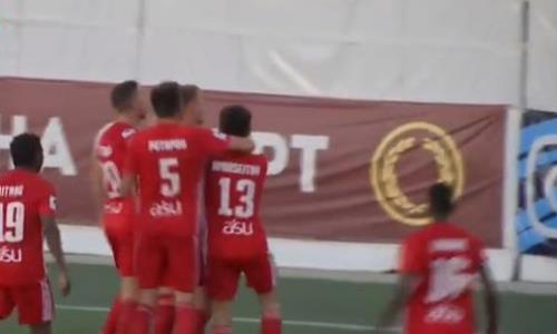 Видеообзор матча Премьер-Лиги «Каспий» — «Кайсар» 2:4