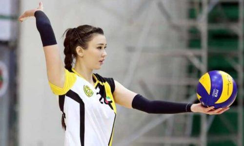 Алтынбекова может вернуться в волейбол и продолжить карьеру