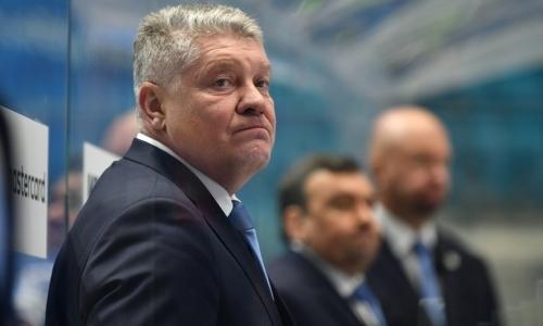 """«Досталось """"в наследство""""». В КХЛ дали оценку первому сезону Юрия Михайлиса у руля «Барыса»"""