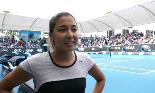 Зарина Дияс близка к возвращению в ТОП-100 рейтинга WTA
