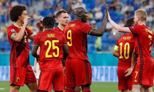 Сборная Бельгии победила Финляндию на ЕВРО-2020