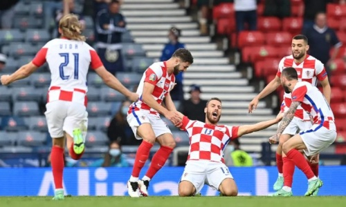 Сборная Хорватии обыграла Шотландию на ЕВРО-2020