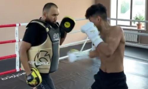 Чемпион WBC из Казахстана блеснул мастерством и скоростью комбинаций в ринге. Видео