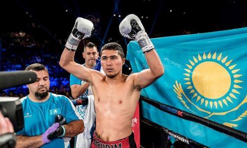 Непобежденный казахстанский боксер показал видео с тренировки в США