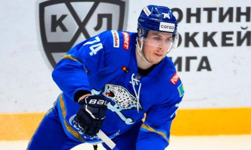 «Барыс» выдал неожиданную реакцию на уход хоккеиста сборной Казахстана