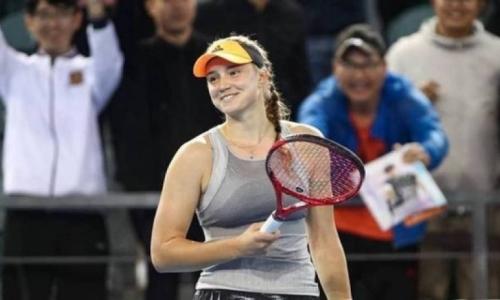 Рыбакина выиграла во втором круге теннисного турнира Eastbourne International