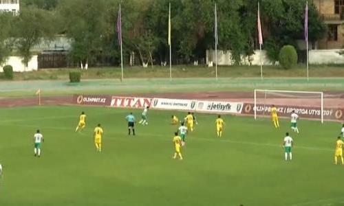 Видеообзор матча Премьер-Лиги «Жетысу» — «Атырау» 1:2