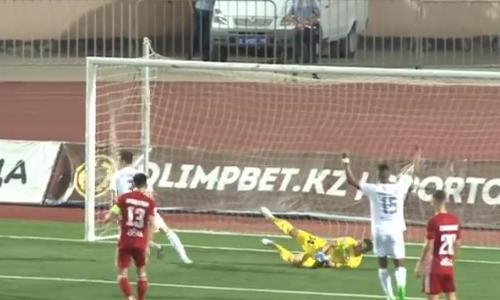 Видео гола Асранкулова матча Премьер-Лиги «Кайсар» — «Тобол»