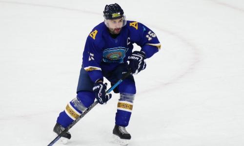 Экс-хоккеист «Барыса» подписал контракт с клубом чемпионата Казахстана