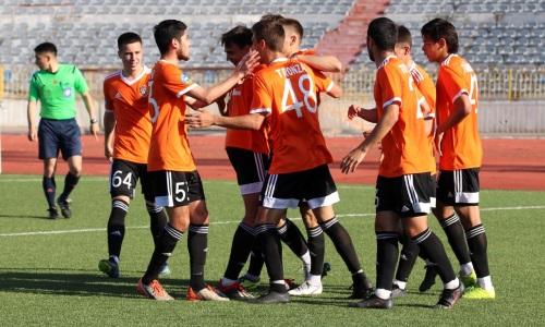 «Шахтер-Булат» в гостях разгромил молодежный состав «Кызыл-Жара СК» в матче Первой лиги