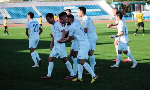 «Аксу» уверенно переиграл «Игілік» в матче Первой лиги