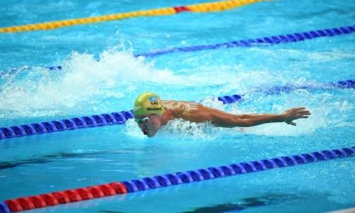 Казахстанский пловец установил новый рекорд страны на квалификационном турнире в Риме