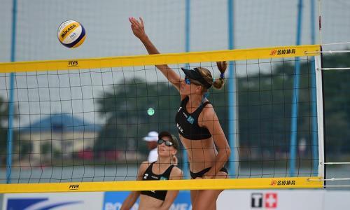 Казахстанские пляжницы уступили на старте олимпийского отборочного турнира в Таиланде
