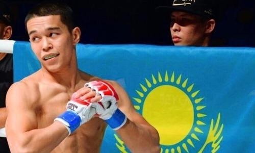 Казахстанский боец узнал дату своего дебюта в Brave CF