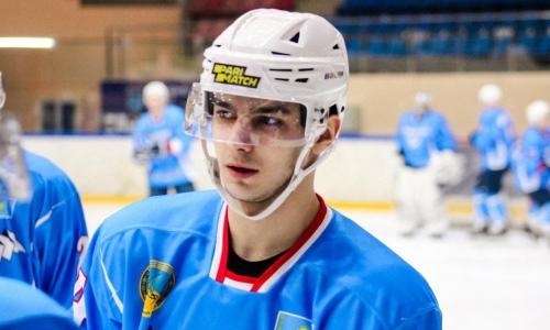 Клуб чемпионата Казахстана подписал двух молодых хоккеистов