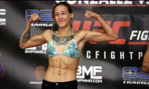 «Угрожала зарезать». Первую казахстанку в UFC обвинили в употреблении наркотиков
