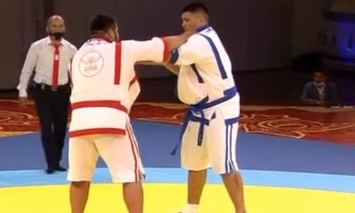 Нуралинов стал вторым финалистом турнира «Казахстан Барысы»-2021