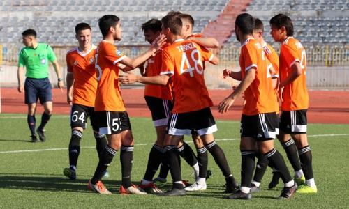 «Шахтер-Булат» отправил пять мячей в ворота «Байконура» в матче Первой лиги