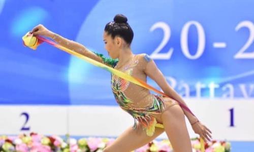 Казахстанские спортсменки примут участие в этапе Кубка мира по художественной гимнастике в Москве