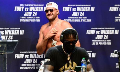 Фьюри объявил о планах сразиться с чемпионом UFC и назвал условия боя