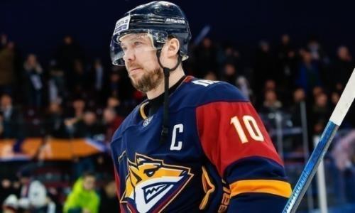 Клуб хоккеистов сборной Казахстана вывел из обращения номер своего легендарного игрока