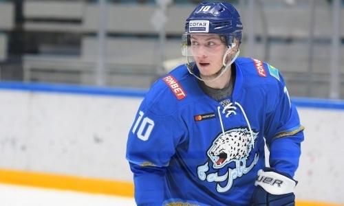 КХЛ оценила игру форварда «Барыса» и предсказала ему попадание в ТОП-5 лучших нападающих из Казахстана