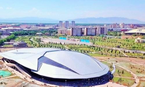 В Талдыкоргане состоялось торжественное открытие олимпийского бассейна