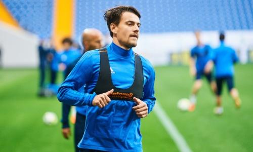 Футболист «Астаны» прокомментировал информацию о переходе в клуб РПЛ