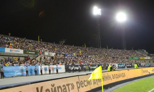 «Кайрат» добивается разрешения сыграть с «Маккаби» в Алматы при полных трибунах