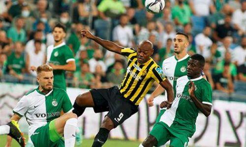 «Кайрат» проигрывает «Маккаби» после первого тайма матча Лиги Чемпионов