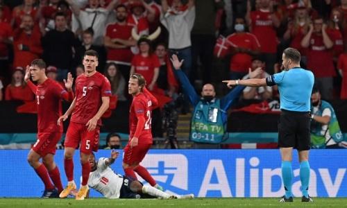 Матч Англия — Дания за выход в финал ЕВРО-2020 обернулся грандиозным скандалом. Видео