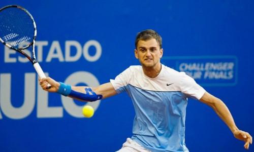 Казахстанский теннисист уступил в парном разряде теннисного турнира в Австрии