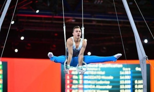 Участник Олимпиады-2020 из Казахстана проводит сборы в Киеве