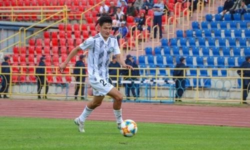Досмагамбетов официально представлен клубом КПЛ после ухода из «Ордабасы»