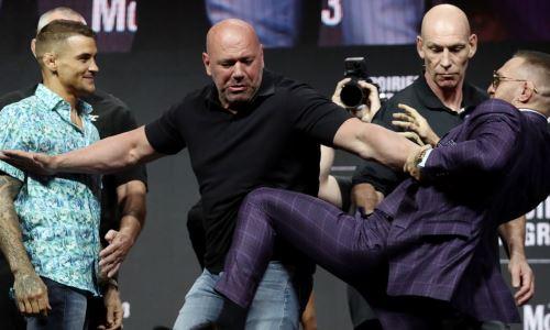 Стали известны гарантированные гонорары Макгрегора и Порье за третий бой в UFC