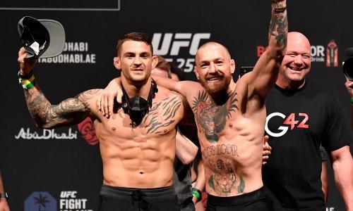Конор Макгрегор — Дастин Порье: прямая трансляция третьего боя в UFC