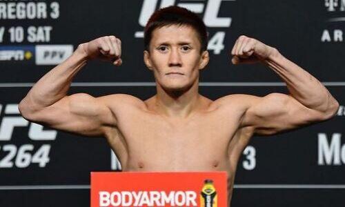 Стал известен результат взвешивания Жумагулова на UFC 264