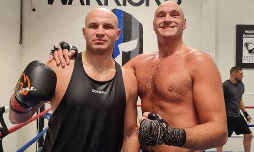 Иван Дычко рассказал о тренировках и спаррингах с Тайсоном Фьюри
