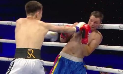 Непобежденный казахстанский боксер выиграл шестой бой в профи