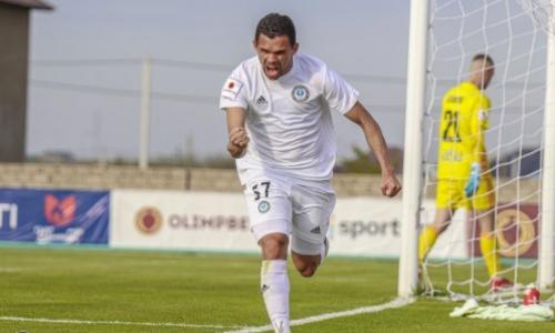 Жоао Пауло дебютировал за «Кайрат» в Кубке Казахстана
