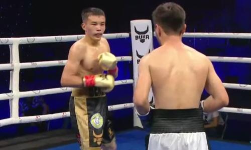 Казахстанские боксеры зарубились за звание чемпиона страны на профи-ринге