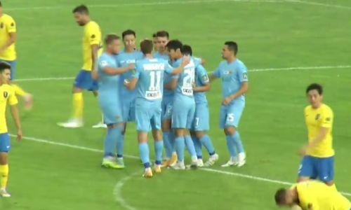 «Кайрат» с выездной победы начал Кубок Казахстана в матче с дебютом Жоао Пауло