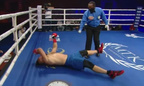 Видео брутального нокаута за 58 секунд, или Как Иван Дычко потушил свет россиянину с 39 победами