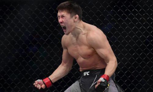 UFC опубликовал видео первого победного боя Жалгаса Жумагулова в HD