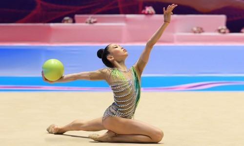 Казахстанские гимнастки выступили в индивидуальном многоборье Кубка вызова