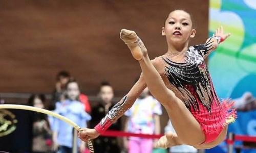 Казахстанские гимнастки выступили на Кубке мира в России