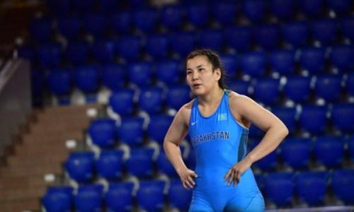 Женская сборная Казахстана по борьбе проводит заключительный этап подготовки к Олимпиаде