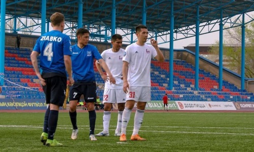 «Байконур» уступил «Игіліку» в матче Первой лиги