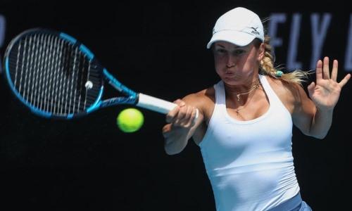 Путинцева одержала победу в первом туре турнира в Будапеште